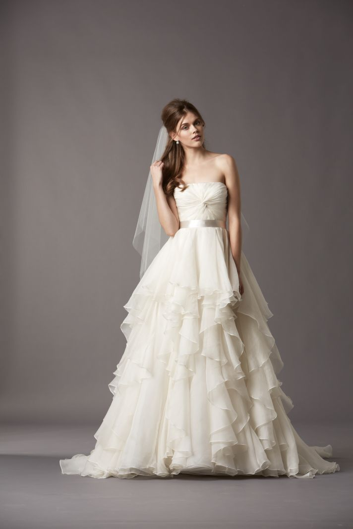 Watters Bridal Gowns Fall 2013 Wedding Dress 4074B