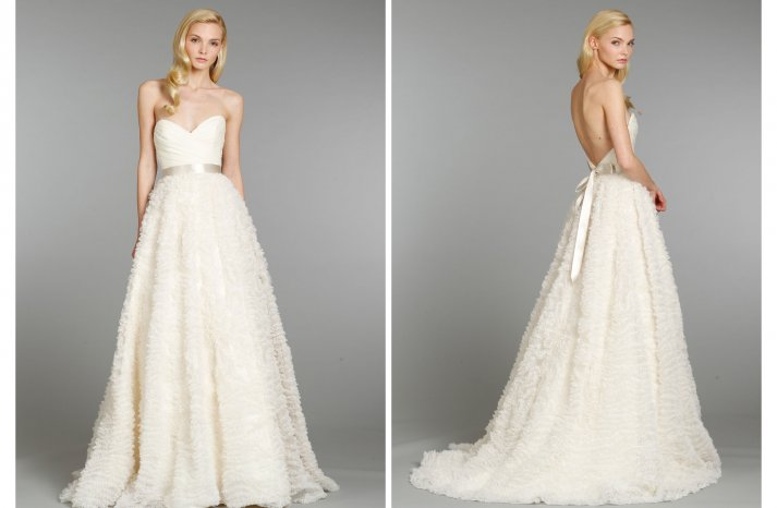 Hayley Paige wedding dress Fall 2013 Bridal 6352