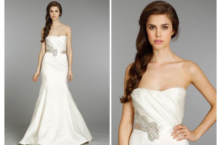 Hayley Paige wedding dress Fall 2013 Bridal 6356