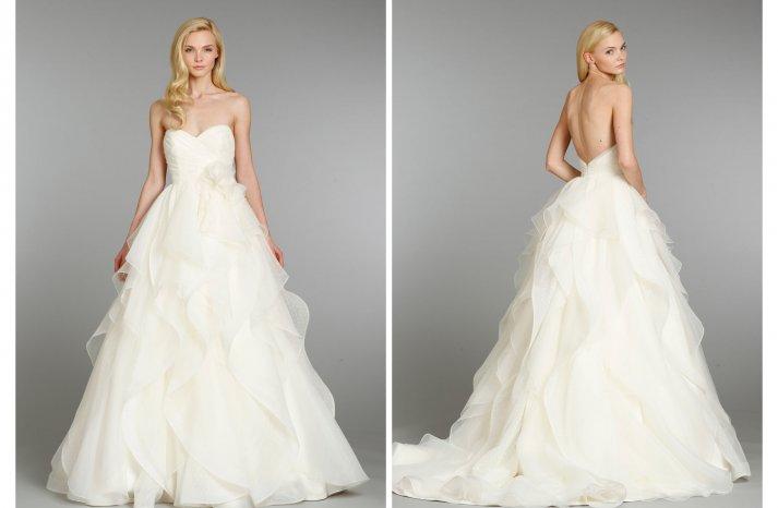 Hayley Paige wedding dress Fall 2013 Bridal 6361