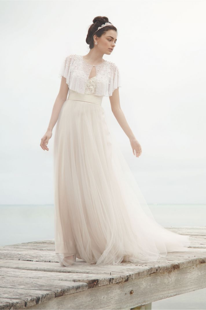 Scattered Pearl Caplet by BHLDN