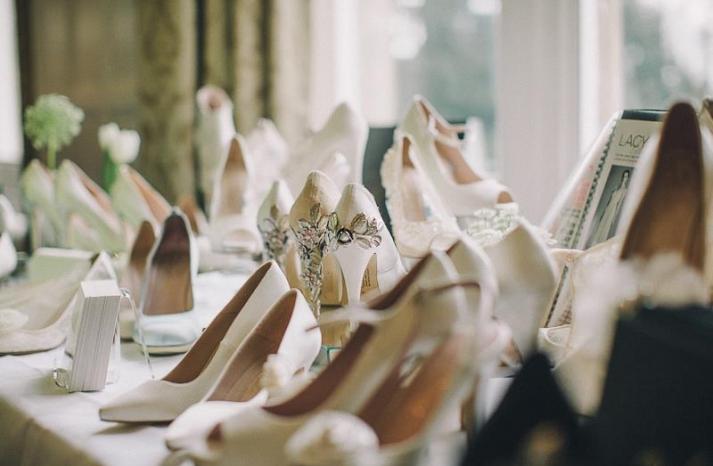 Wedding shoes by Harriet Wilde bridal heels 3