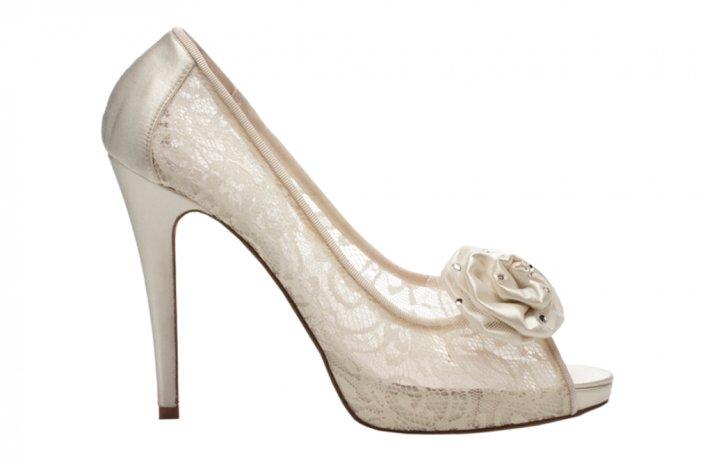 Wedding shoes by Harriett Wilde bridal heels Marina