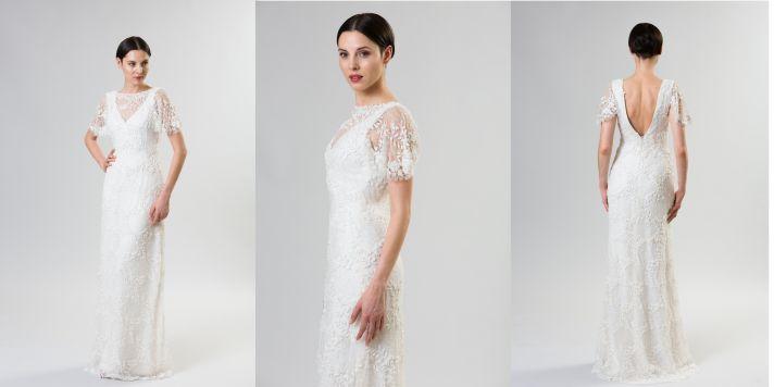necklines we love junko yoshioka summer spring 2014 wedding dress marzipan