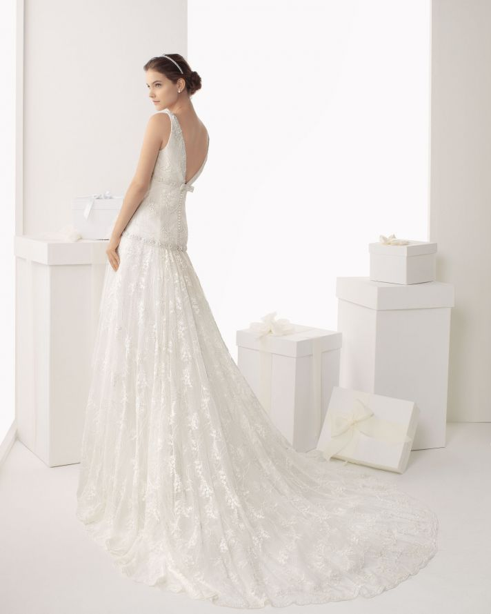 Rosa Clara wedding dress 2014 bridal Calima