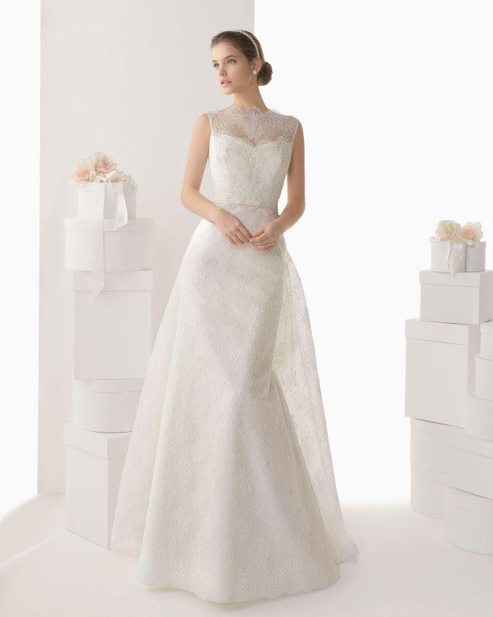 Rosa Clara wedding dress 2014 bridal Candela