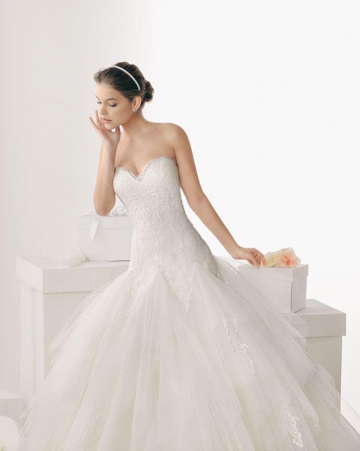 Rosa Clara wedding dress 2014 bridal cadaques