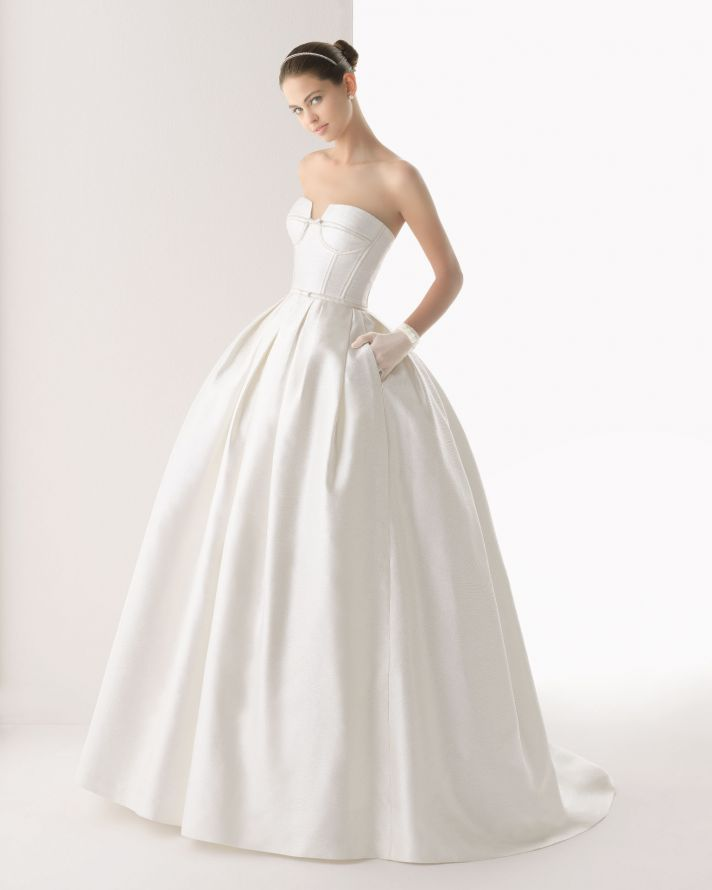 Rosa Clara wedding dress 2014 bridal Colombia