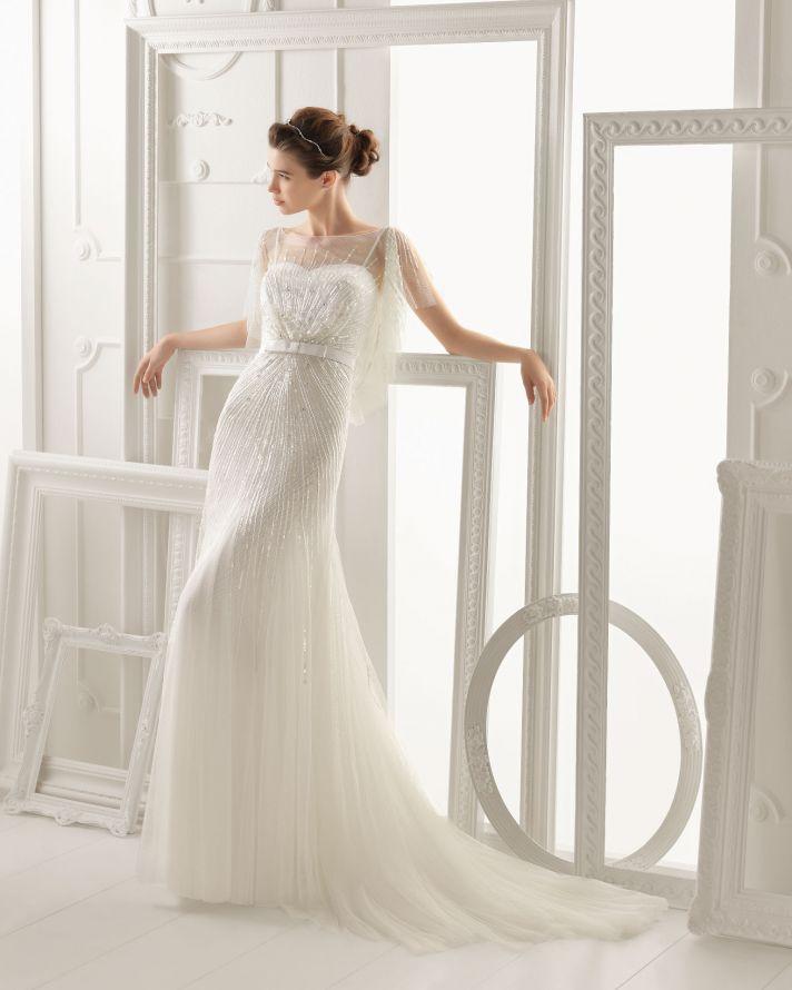 Aire Barcelona wedding dress 2014 Bridal Oneida