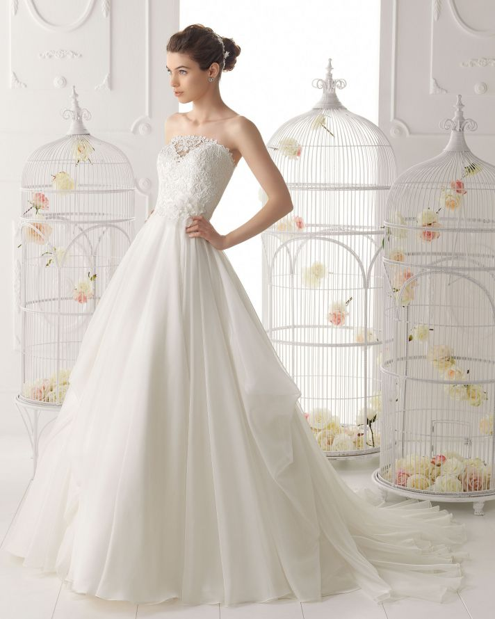Aire Barcelona wedding dress 2014 Bridal Orian