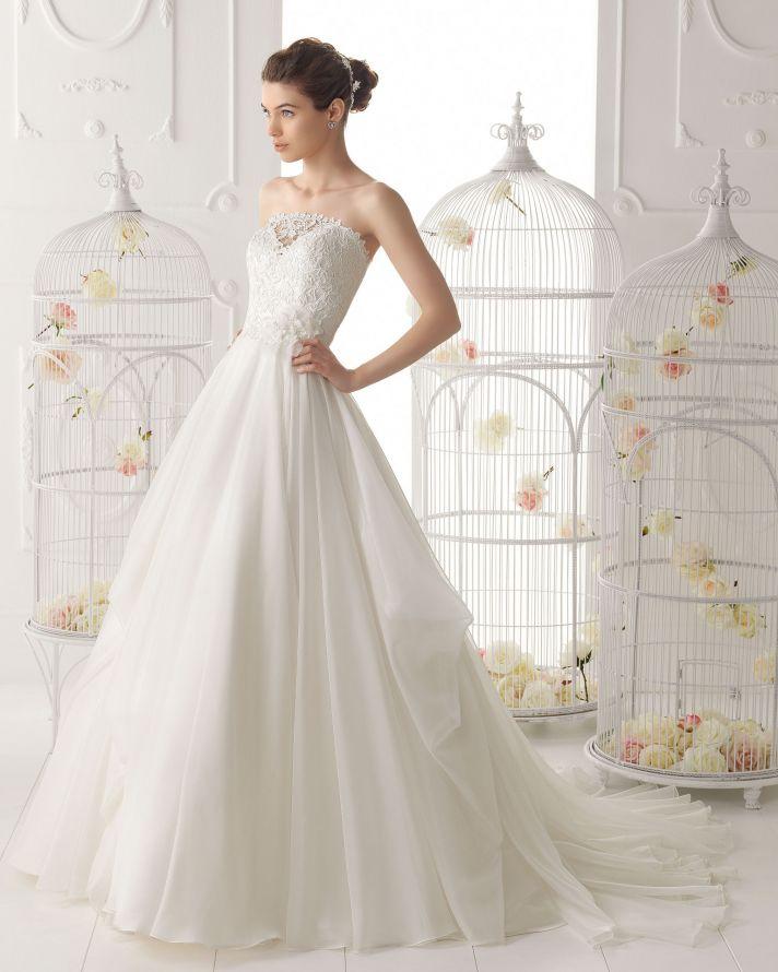 Aire Barcelona wedding dress 2014 Bridal Orian
