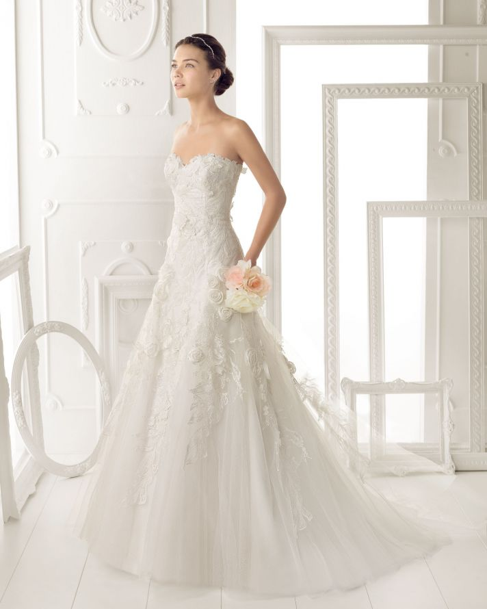 Aire Barcelona wedding dress 2014 Bridal Ozor