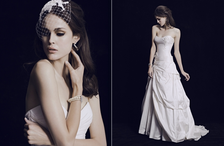 mariana hardwick wedding dress 2013 bridal classic collection original