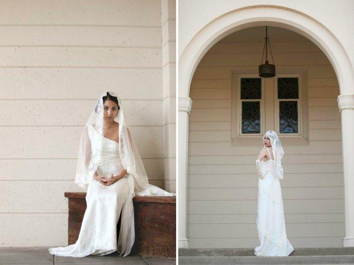 Vintage wedding veils Gatsby meets Downton Abbey