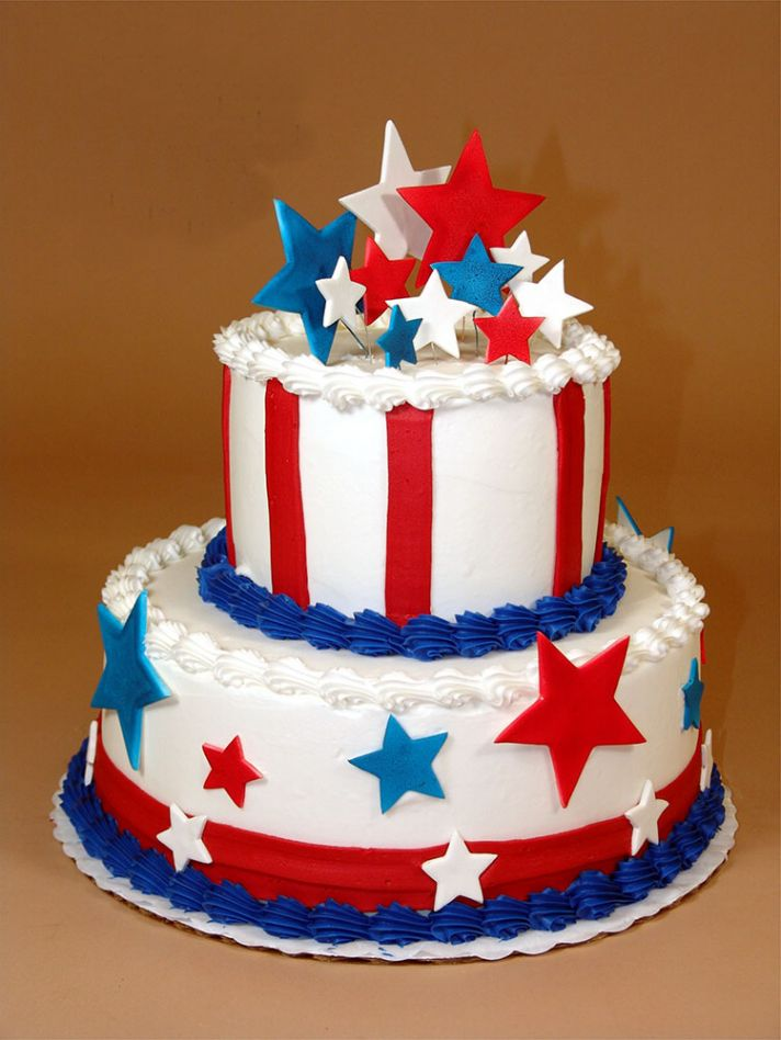 4th of July Wedding Cakes Fourth of July Wedding Cake