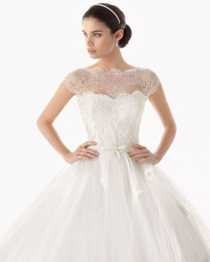 vestido de novia rosa clara 222 original
