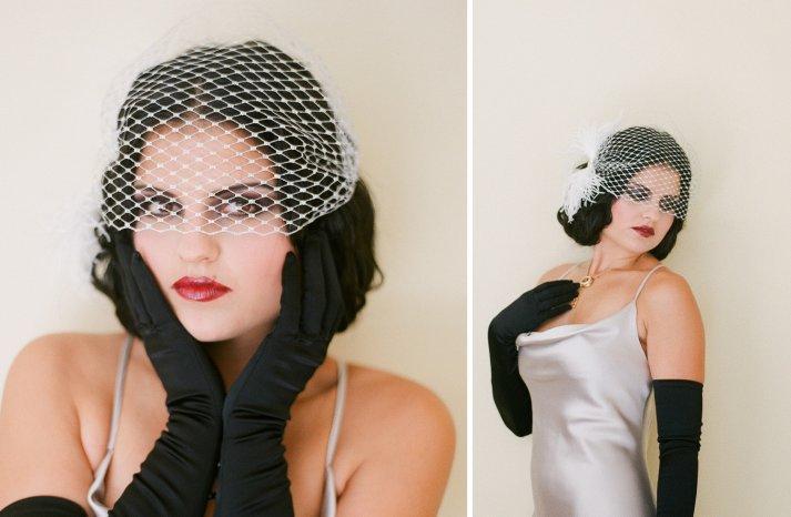 Stunning wedding veils and headpieces by Serephine 8