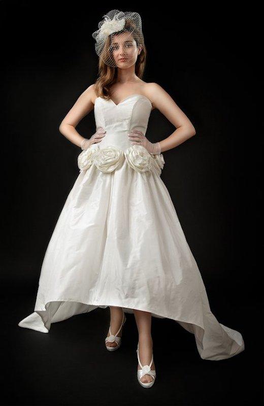 Custom wedding dress by Anna Neiman Juliet 2