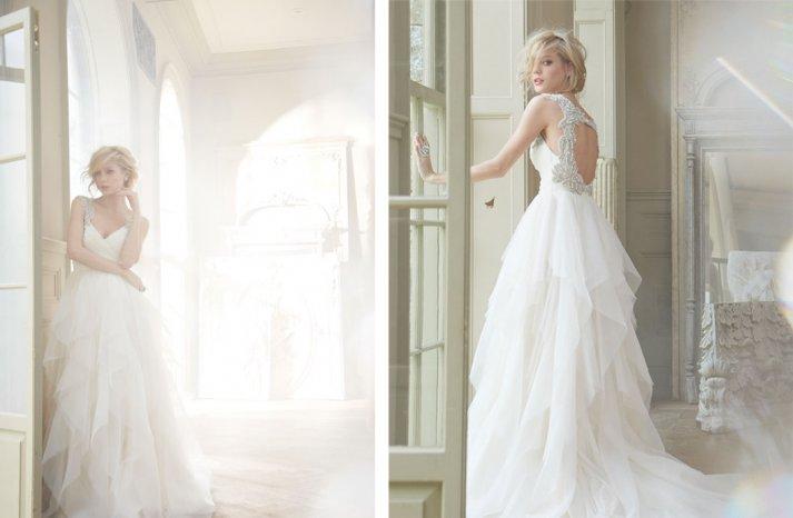 Hayley Paige Bridal Fall 2013 Wedding Dresses 6350 2