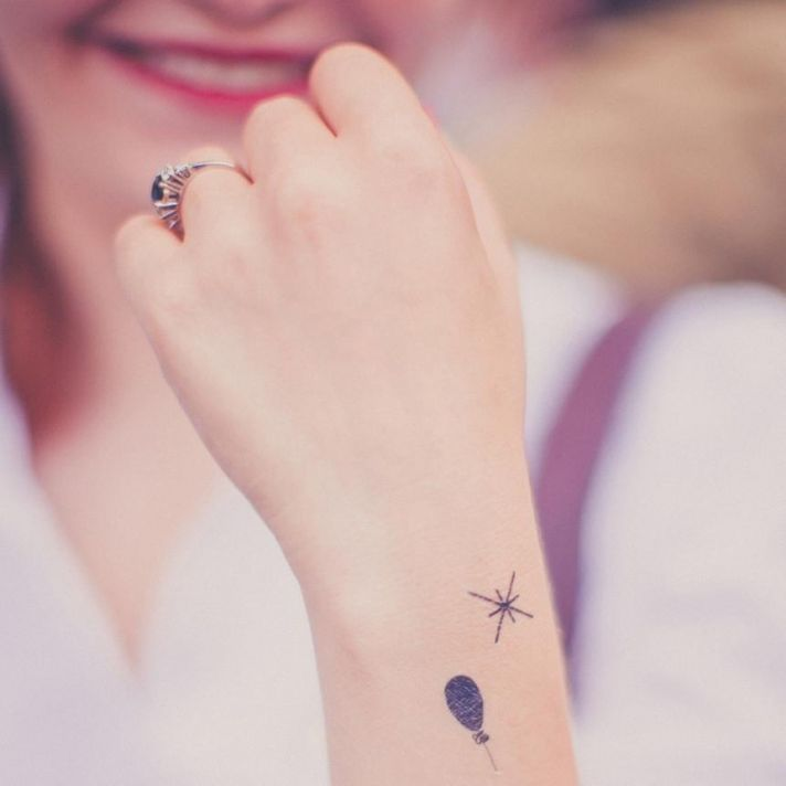 best wedding guest favors temporary tattoos