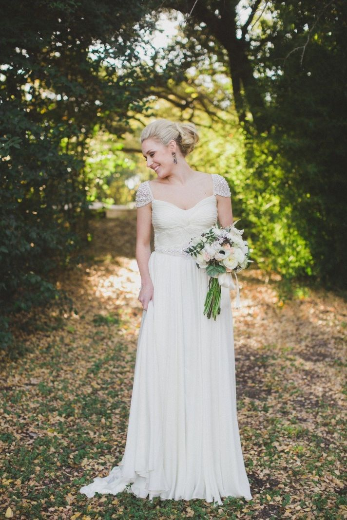 Laurel wedding dress from Roses by Reem Acra collection
