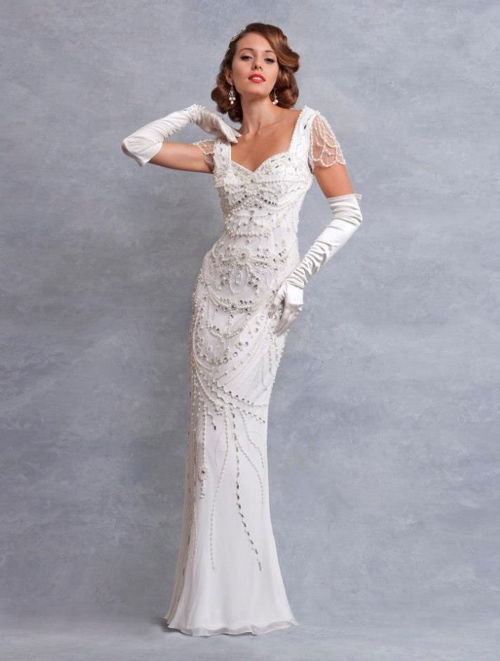 Best 1930s Style Wedding Dresses Ideas - Styles & Ideas 2018 - sperr.us