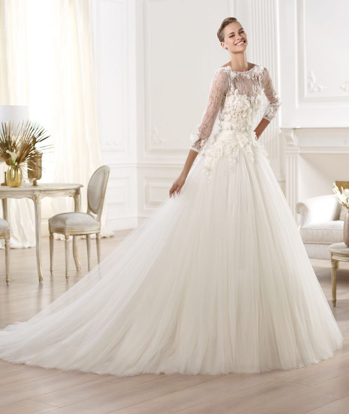 magnificent elie by elie saab 2014 wedding dresses onewed