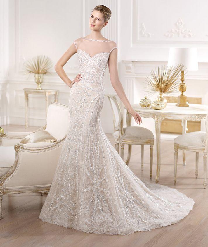 YIRSA wedding dress by Atelier Pronovias 2014 bridal