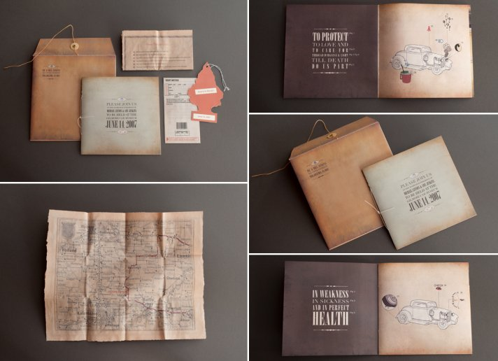 Interactive wedding invitations and save the dates 5