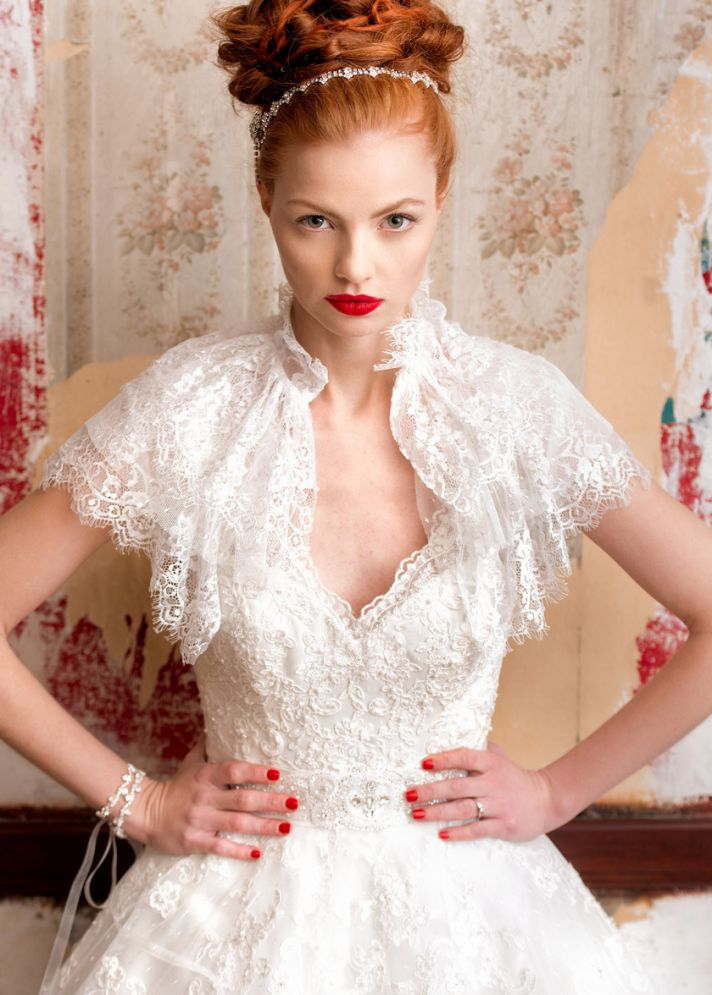 Belle wedding dress by Charlotte Balbier 2014 bridal