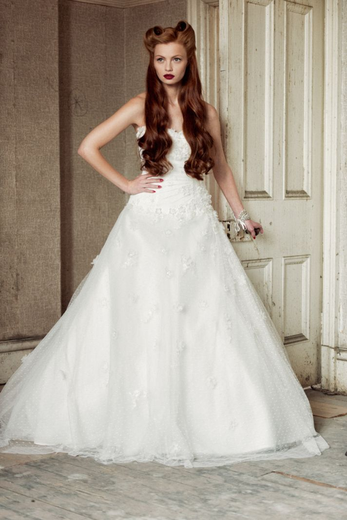 Sarah wedding dress by Charlotte Balbier 2014 bridal