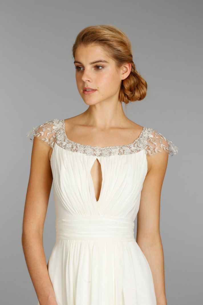 Jim Hjelm wedding dress fall 2013 bridal 8354