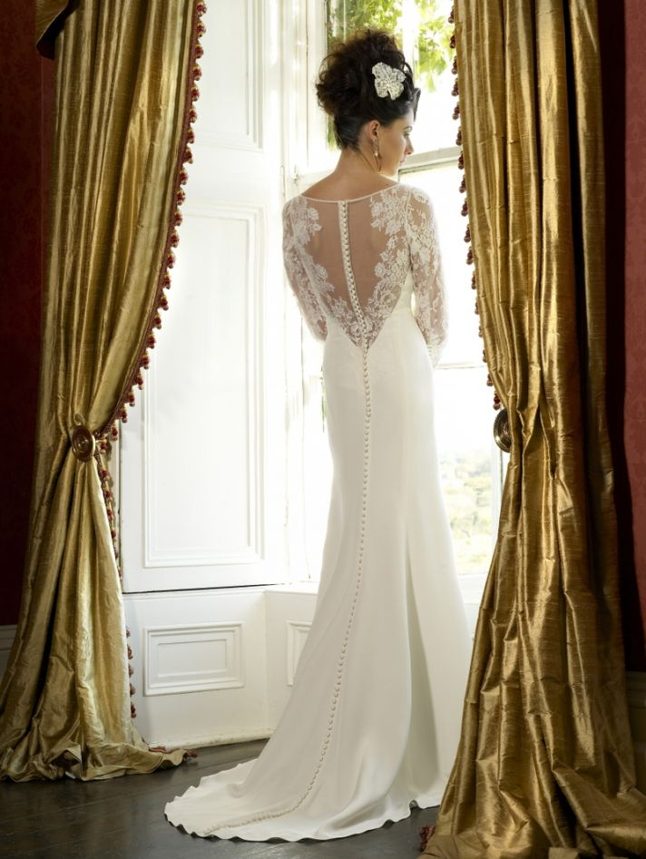 Savannah wedding dress by Kathy de Stafford 2013 bridal