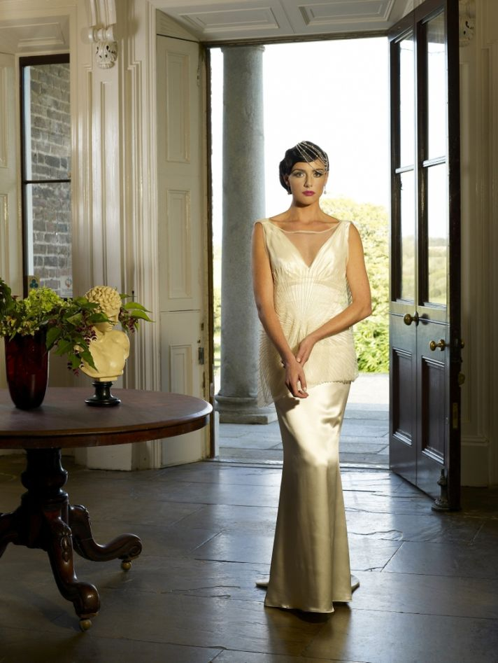 Sahara wedding dress by Kathy de Stafford 2013 bridal