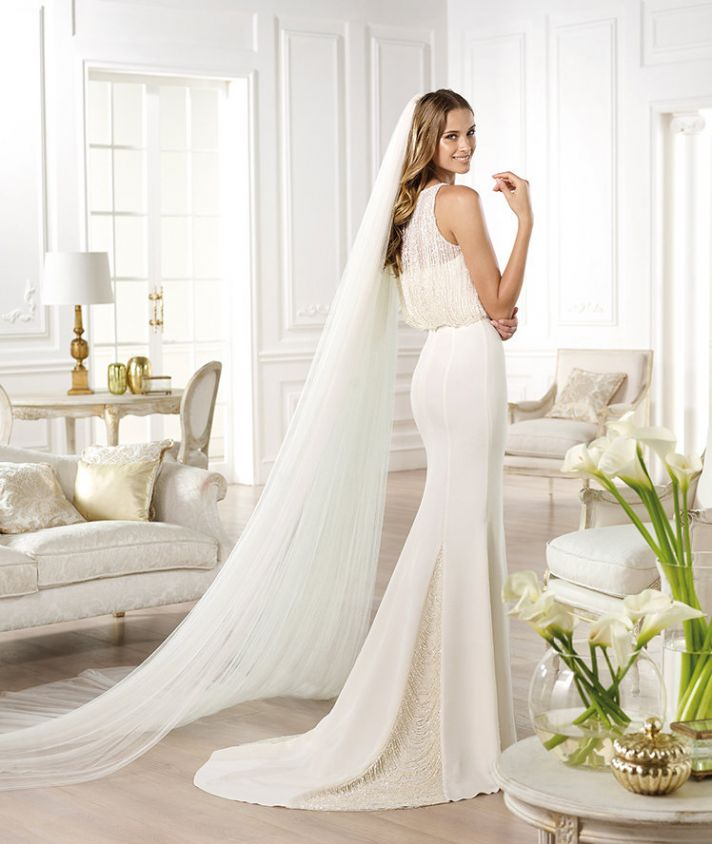 YAMEL wedding dress by Atelier Pronovias 2014 bridal