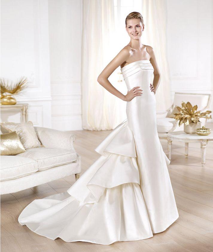 YENCY wedding dress by Atelier Pronovias 2014 bridal