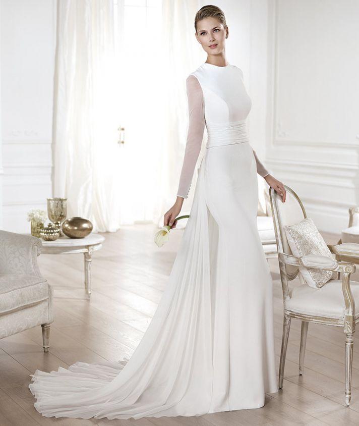 YELICE wedding dress by Atelier Pronovias 2014 bridal