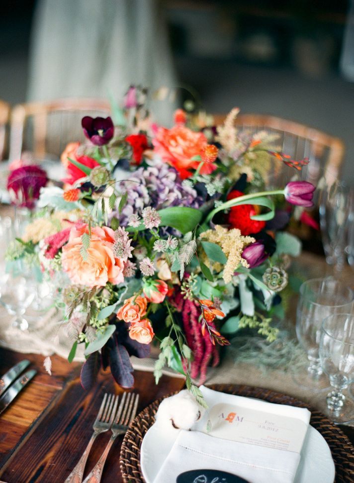 Gorgeous Wedding Color Palettes For Autumn