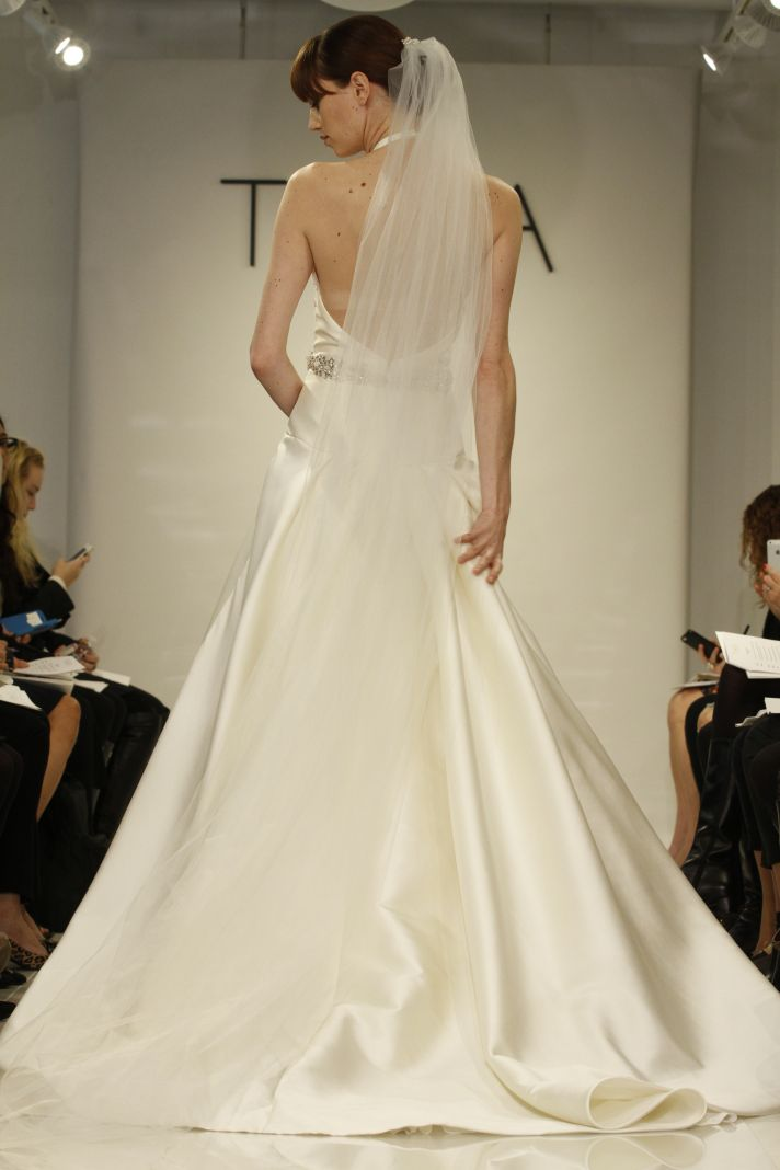 Low Back Theia wedding gown Amelia