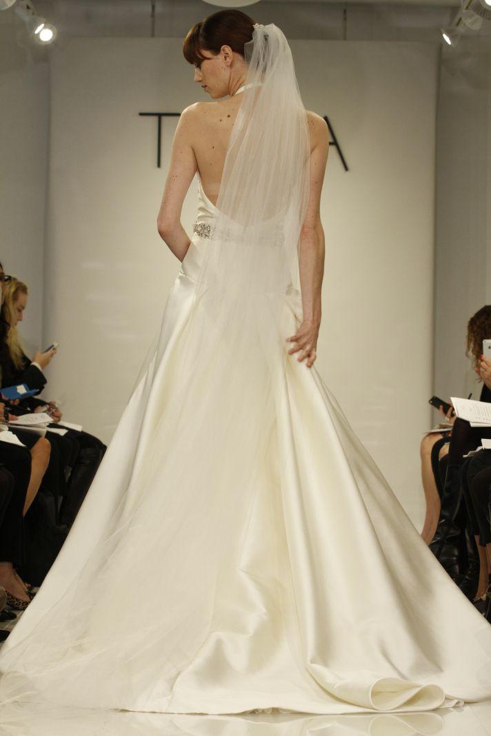 Low Back Theia wedding gown Amelia