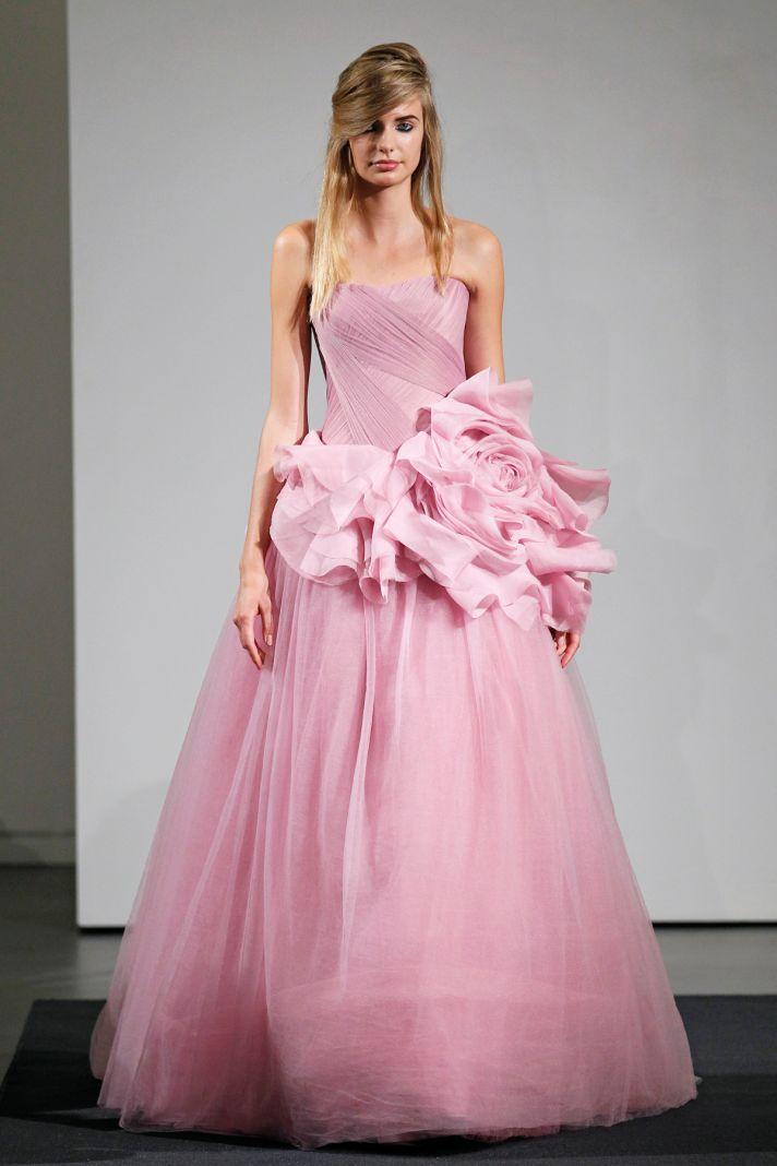 Wedding dress by Vera Wang Fall 2014 bridal collection 2