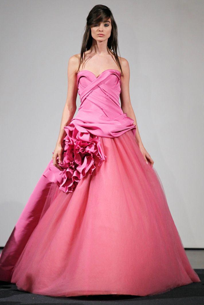 Wedding dress by Vera Wang Fall 2014 bridal collection 12