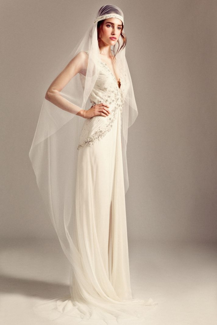 Romily wedding dress by Temperley London Fall 2014 bridal