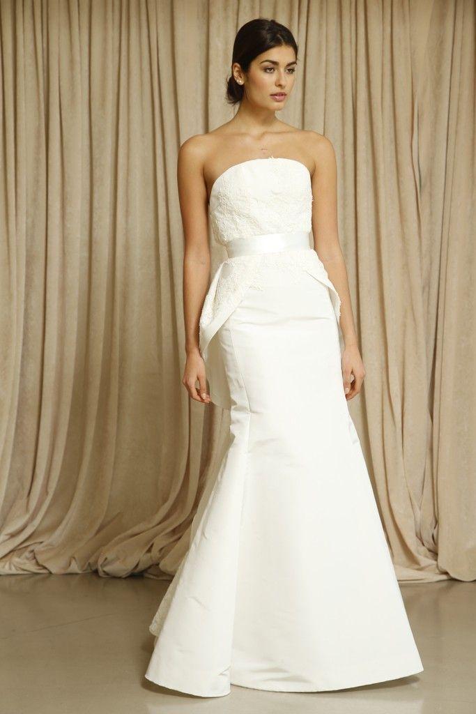 Oscar de la Renta wedding dress Fall 2014 8