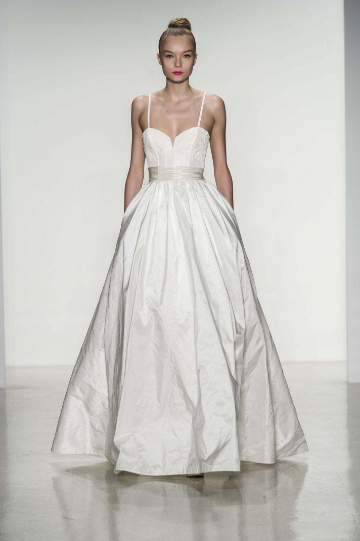 Cameron wedding dress by Amsale Fall 2014 bridal