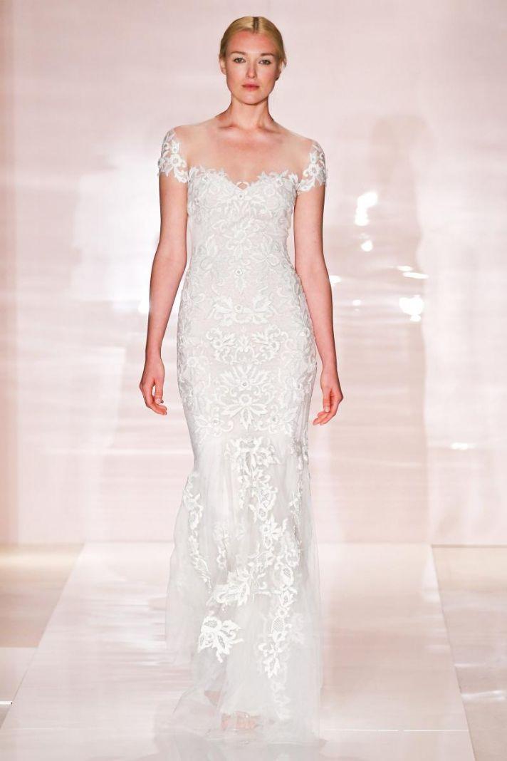 Lexi 2 wedding dress by Reem Acra Fall 2014 Bridal