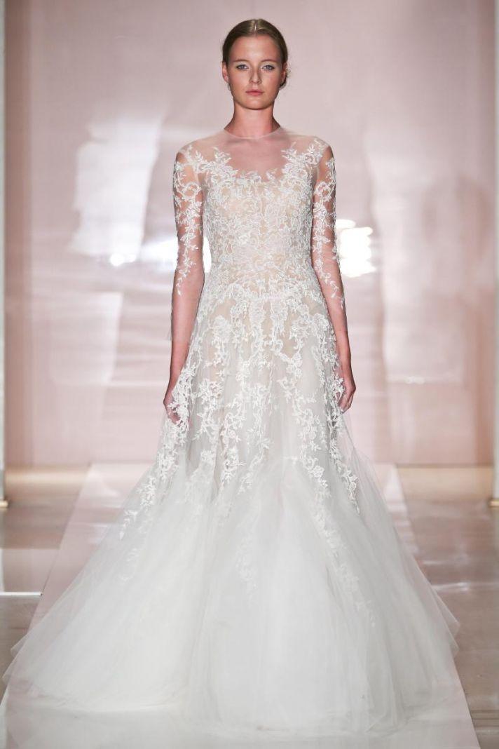 Erica 2 wedding dress by Reem Acra Fall 2014 Bridal