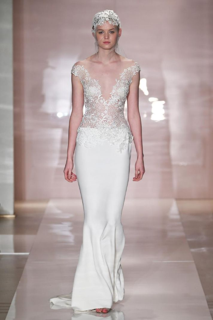 Kristina wedding dress by Reem Acra Fall 2014 Bridal