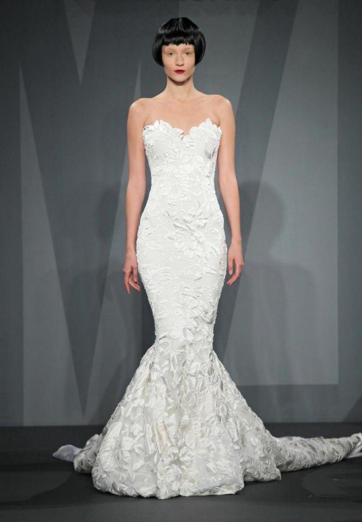 Mark Zunino wedding dress for Kleinfeld Fall 2014 Bridal 6