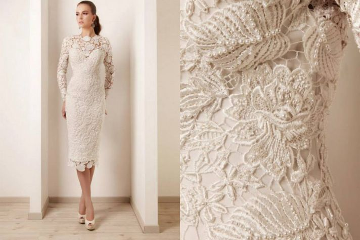 The crocheted wedding dress lace up back crochet wedding dress junglespirit Images